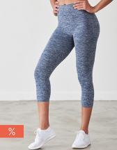 Ladies' Seamless Cropped Leggings
